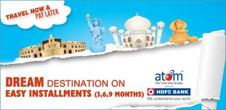 Dream destination on Easy EMI Option At Southern Travels